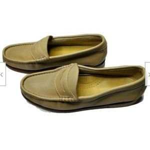 Weejuns Loafer Penny Beige Leather Soft 7.5M